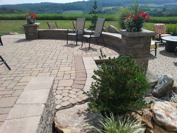 Lehigh Valley Hardscapes Inc. - Patio, Outdoor Patio, Backyard Hardsacpe, Hardscape Ideas, Lehigh Valley Landscaping, Stone Patio